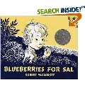 Kuplink, kuplank, kuplunk go the blueberries into the pail of a little girl named Sal who--try as she might--just can't seem to pick as fast as she eats. Robert McCloskey's classic is a magical tale of the irrepressible curiosity--not to mention appetite--of youth. Sal and her mother set off in search of blueberries for the winter at the same time as a mother bear and her cub. A quiet comedy of errors ensues when the young ones wander off and absentmindedly trail the wrong mothers.